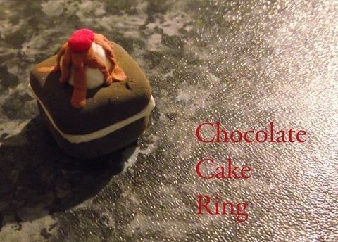 Warning: Not to eat! .  Free tutorial with pictures on how to make a clay ring in under 10 minutes by jewelrymaking and molding with clay, clay, and clay. Inspired by clothes & accessories, cake, and chocolate. How To posted by Georgia . Difficulty: Easy. Cost: Cheap. Steps: 8