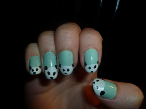 .  Paint an animal nail in under 40 minutes by creating, nail painting, and nail painting Inspired by pandas, pandas, and clothes & accessories. Version posted by Super Dooper. Difficulty: Easy. Cost: No cost.
