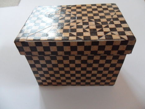 .  Fold an origami box in under 40 minutes by decorating, papercrafting, and decoupaging Inspired by inspiration and gothic. Version posted by . Difficulty: Easy. Cost: Absolutley free.