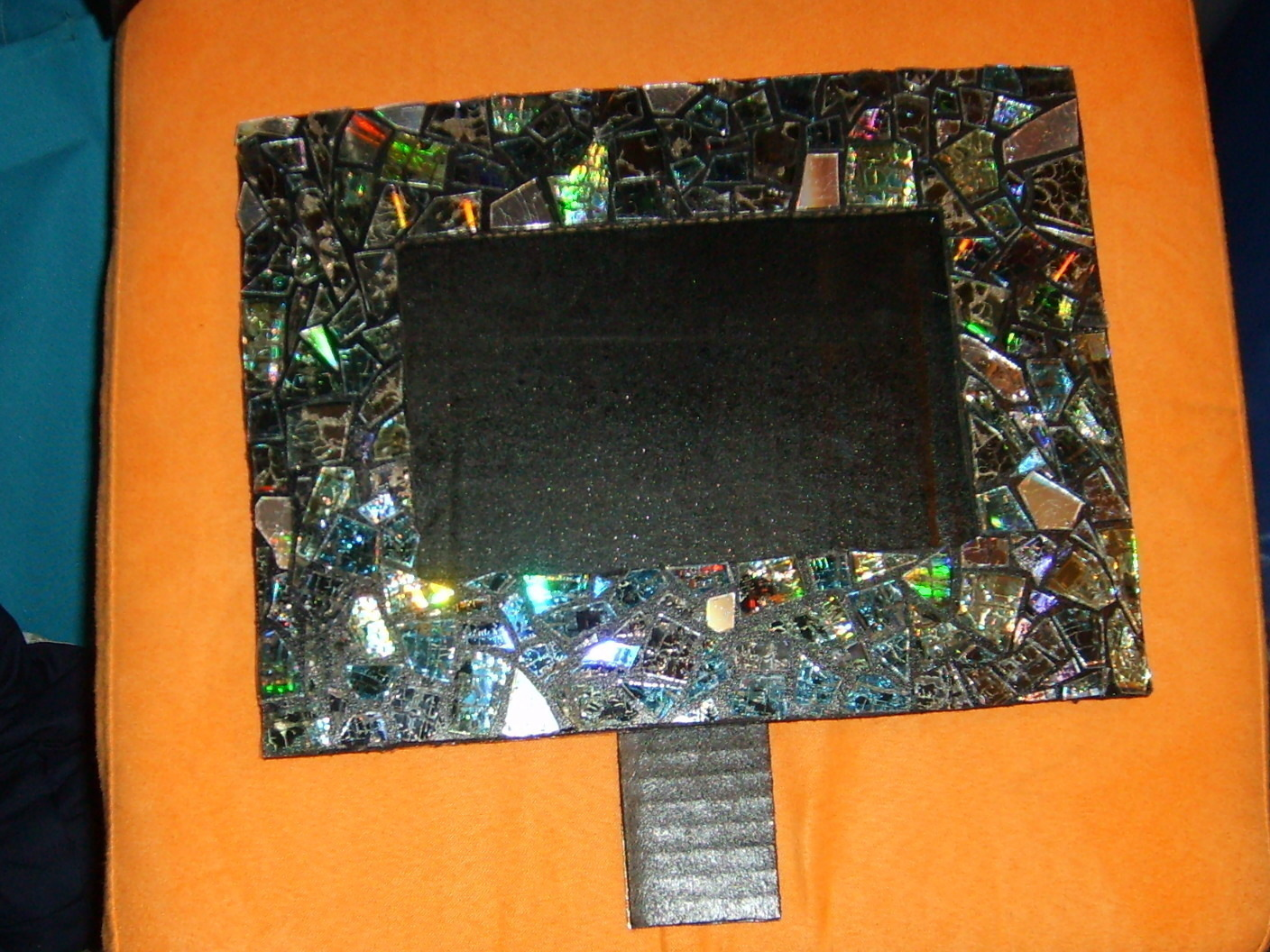 Cd Picture Frame · A Frame / Photo Holder · Art, Spray Painting, and ...