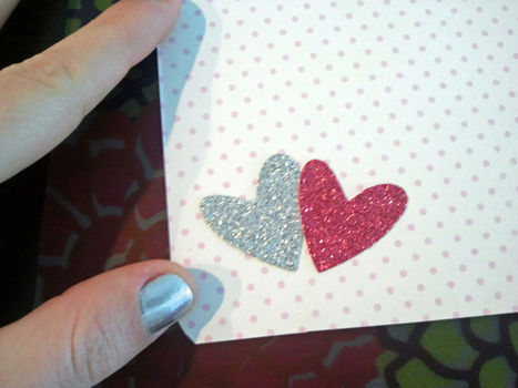Adorable and Easy! .  Free tutorial with pictures on how to make a collages in under 30 minutes by scrapbooking with scissors, decoupage glue, and cardstock. Inspired by valentine's day. How To posted by Jill T. Difficulty: Easy. Cost: Cheap. Steps: 5