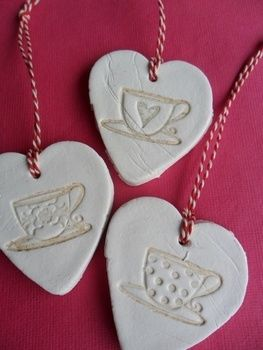 Happy Valentine .  Free tutorial with pictures on how to sculpt a clay heart in under 60 minutes by molding with clay, cookie cutter, and stamp. Inspired by valentine's day and hearts. How To posted by Marieke. Difficulty: Easy. Cost: Absolutley free. Steps: 1