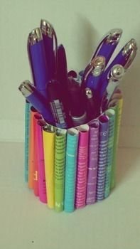 :) .  Recycle a pencil box in under 90 minutes using glue, cardboard, and magazine. Creation posted by Kriti. Difficulty: Easy. Cost: No cost.