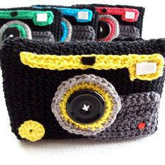 Crochet Camera Case