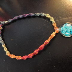 Hemp Necklace With Bead