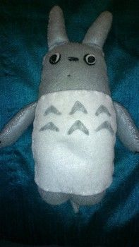 My first version of this loveable character <3 .  Make a bear plushie by sewing and felting with felt, felt, and felt. Inspired by my neighbor totoro, my neighbor totoro, and creatures. Creation posted by JellyBean. Difficulty: Easy. Cost: Cheap.