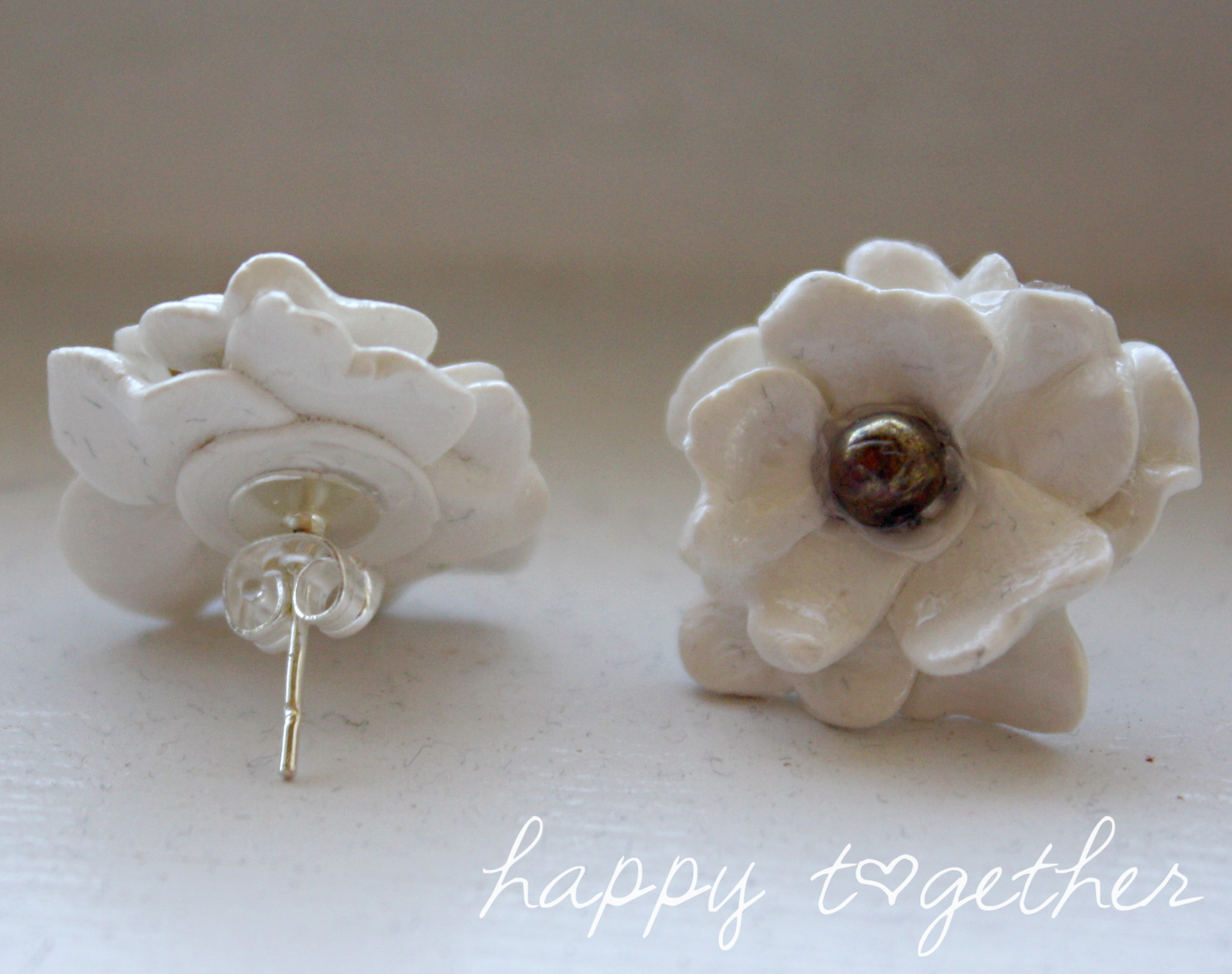 Charming Clay Flower Brooch 183 How To Make A Clay Flower