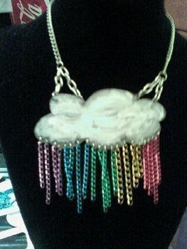 .  Make a pendant necklace in under 45 minutes by drawing, beading, jewelrymaking, melting, decorating, and jewelrymaking Inspired by clothes & accessories, clouds, and clouds. Version posted by Amanda B. Difficulty: Easy. Cost: 3/5.