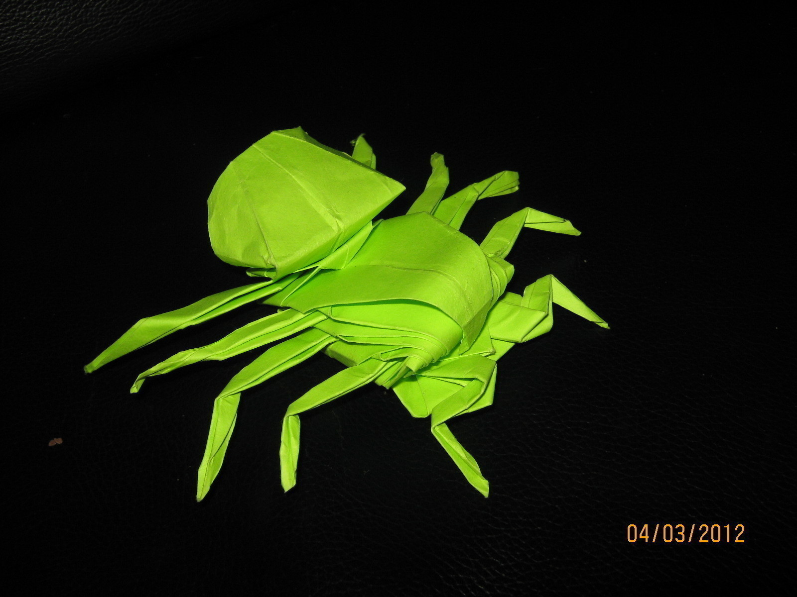 How to make a paper Spider - Easy Tutorial (Origami) - YouTube | 1200x1600