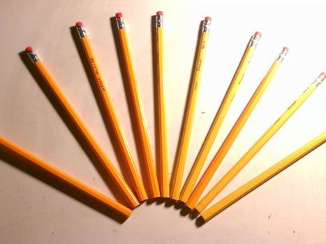 I just don't like the smell of regular pencils ;) .  Free tutorial with pictures on how to make a pens & pencils in under 135 minutes using paper, pencil, and bowl. How To posted by Lau5ren. Difficulty: Easy. Cost: No cost. Steps: 3