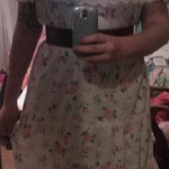 Floral Lace Senorita Dress