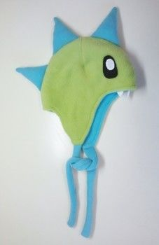 2nd Part of the Pattern .  Free tutorial with pictures on how to make a character hat in under 60 minutes by sewing with fleece. Inspired by dinosaurs, monsters, and kawaii. How To posted by Pam. Difficulty: Easy. Cost: Cheap. Steps: 1