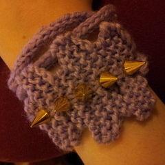 Punk Flower Bracelet