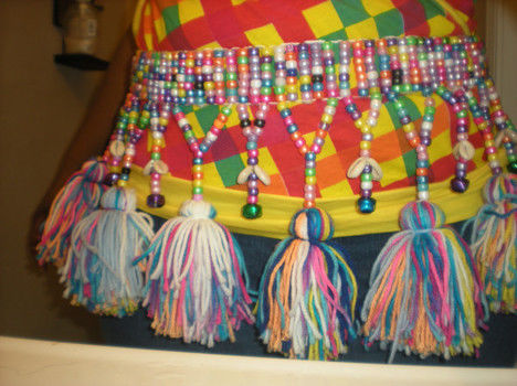 .  Make a beaded belt by beading, embellishing, yarncrafting, and not sewing Inspired by costumes & cosplay and clothes & accessories. Version posted by Telihia D. Difficulty: Simple. Cost: Cheap.