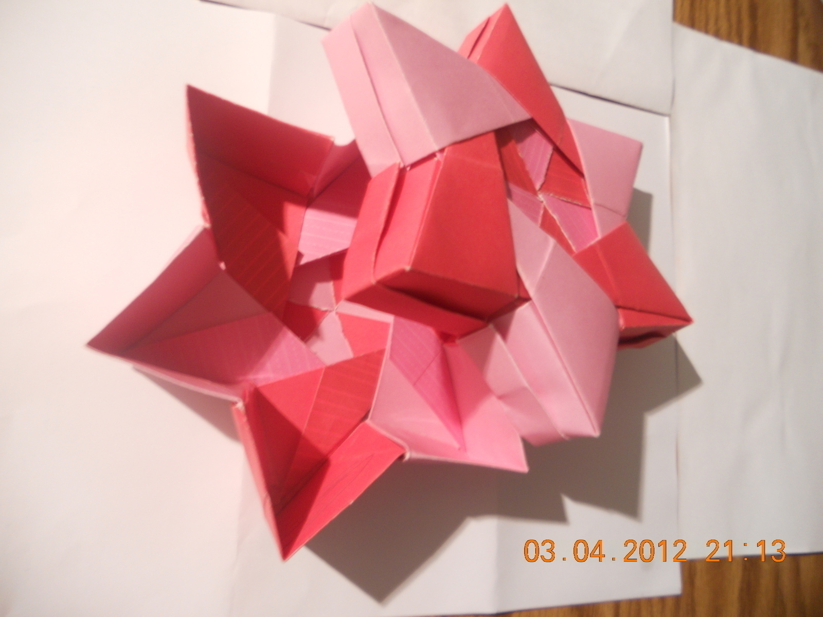 Origami 6 Pointed Star · An Origami Shape · Decorating