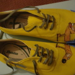 Cat Dog Sneakers!
