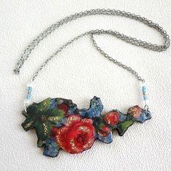 Victorian Rose Pendant