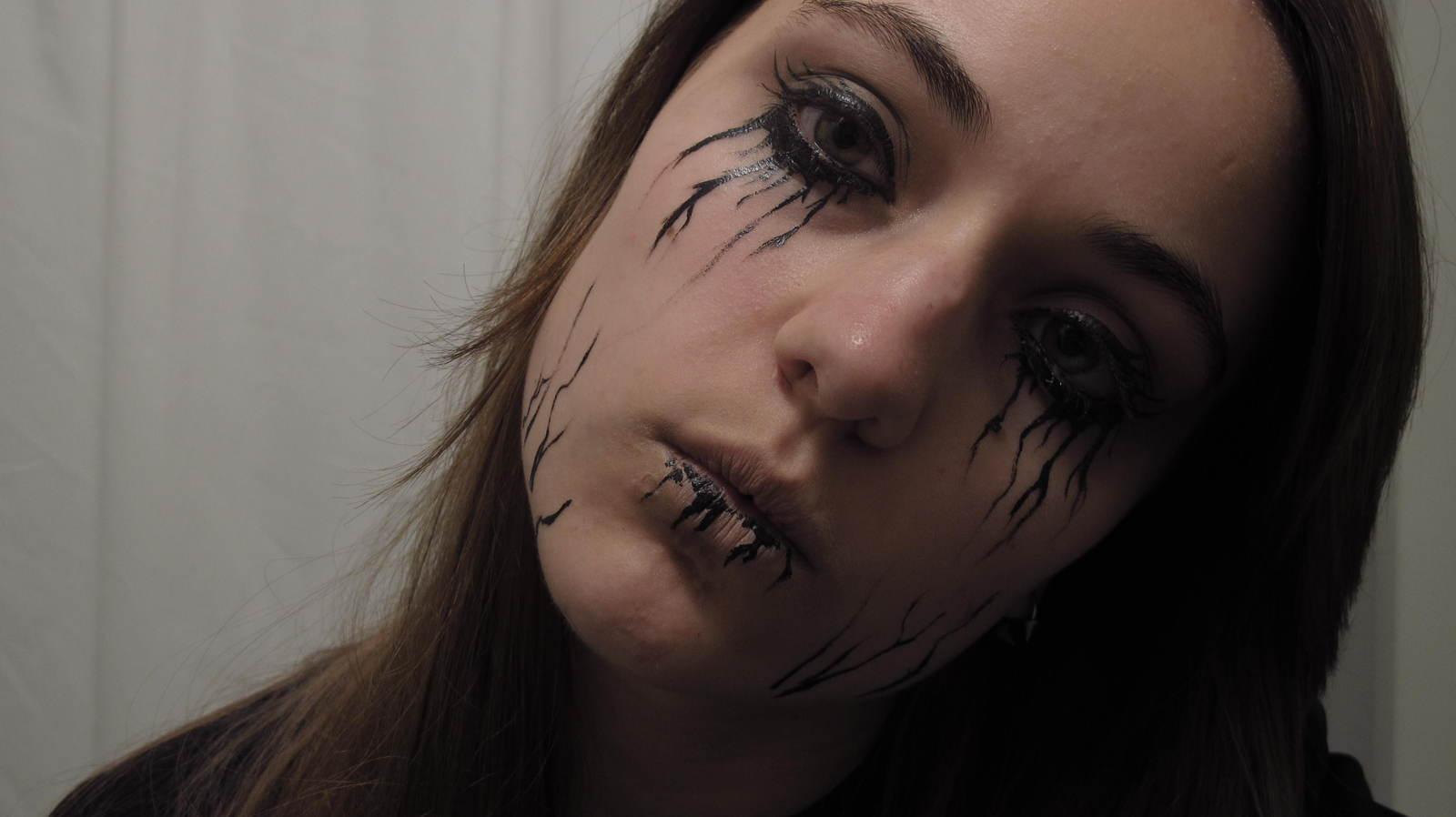 Everyday Goth Makeup An Animal Print Eye Makeup Look Makeup