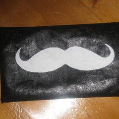 Moustache Pencil Case :D