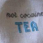 Tea Addiction Cross Stitch