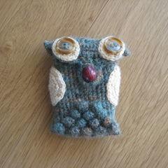 Ullig   Crochet Owl Phone Case