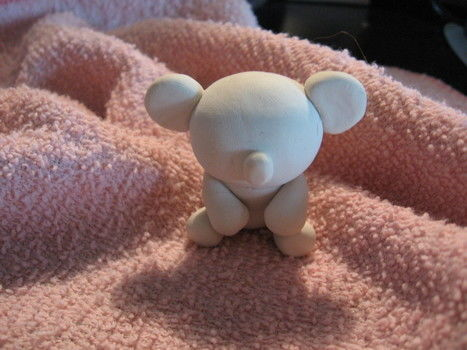 The cutest thing that will ever sit on your desk and stare at you while you sleep.  .  Mold a clay animal in under 45 minutes using acrylic paint, polymer clay, and oven. Creation posted by Nichole R. Difficulty: Easy. Cost: Cheap.