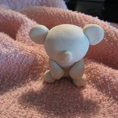Polymer Clay Koala Bear Figurine
