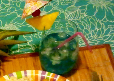 Treat your family and friends to a traditional Hawaiian feast. .  Free tutorial with pictures on how to mix a rum cocktail in under 2 minutes using rum, pineapple juice, and cream of coconut. Inspired by drinks. Recipe posted by Pam. Difficulty: Simple. Cost: 3/5. Steps: 1