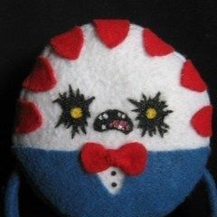 Evil Peppermint Butler Plushie