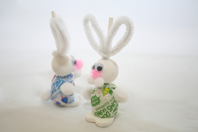 Lollipop Easter Bunnies A Model Or Sculpture