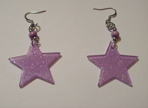 Like a leper messiah.. .  Make a pair of pendant earrings in under 30 minutes by jewelrymaking and jewelrymaking with beads, jump rings, and earring hooks. Inspired by costumes & cosplay, vintage & retro, and stars. Creation posted by PixiePlight. Difficulty: Simple. Cost: Cheap.