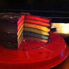 Square small cake