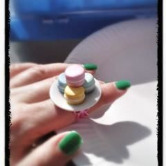 Macaroon Ring