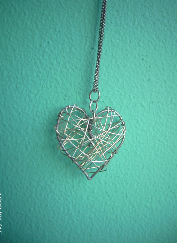 Wire Heart <3 · A Wire Necklace · Jewelry Making, Wirework, and ...