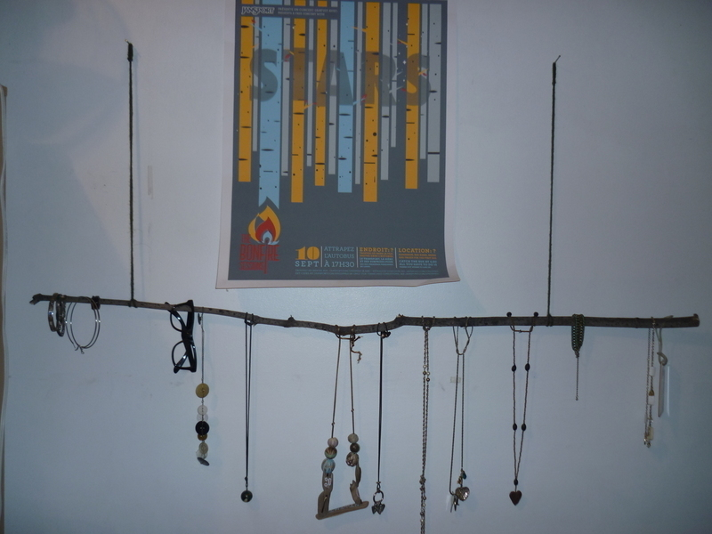 Tree Branch Necklace Holder 183 A Jewelry Branch Hanger
