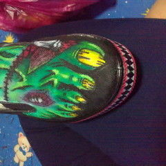 Zombie Feet Canvas Shoes