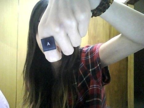 .  Make a keyboard ring in under 40 minutes Inspired by clothes & accessories. Version posted by andrearleite. Difficulty: Simple. Cost: Cheap.