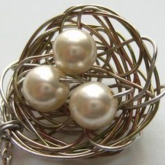 Egg Nest Necklace