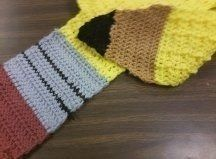 .  Make a novelty scarf in under 0 minutes by crocheting Inspired by clothes & accessories. Version posted by Caitydid. Difficulty: 3/5. Cost: Cheap.