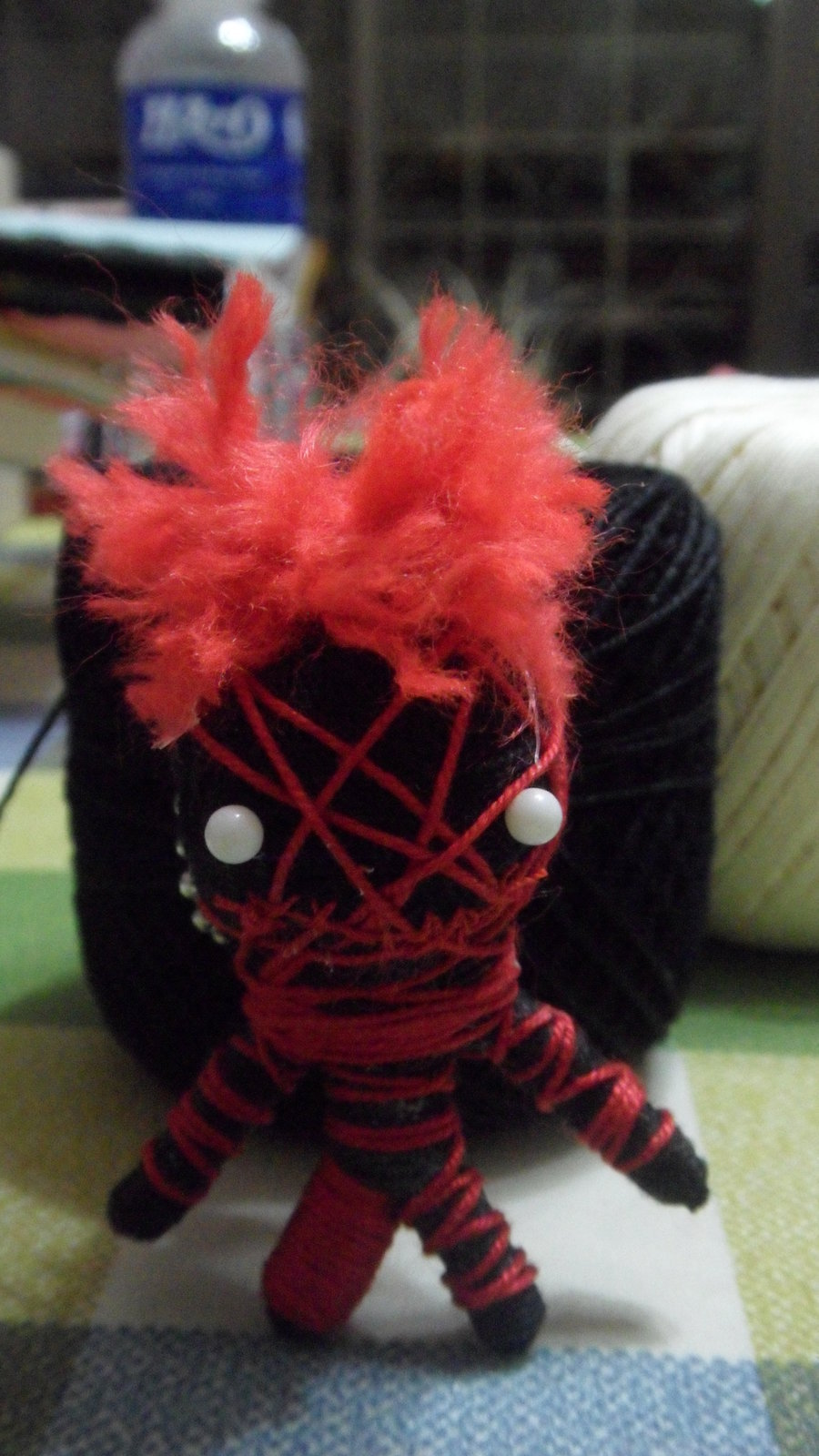 Voo Doo Doll Creations · A Fabric Character Charm · Yarn