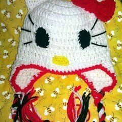 Hello Kitty Ear Flap