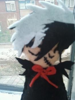 Shhhhhht! .  Sew a cartoon plushie in under 180 minutes by needleworking with felt. Creation posted by ~-*animelover~-*. Difficulty: 3/5. Cost: Absolutley free.