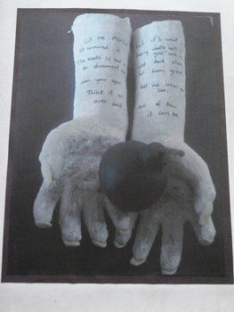 Mod rock hands, poem .  Create art / a model by creating, molding, and decorating with marker pen, plasticine, and mod roc. Creation posted by karina h. Difficulty: 4/5. Cost: 3/5.