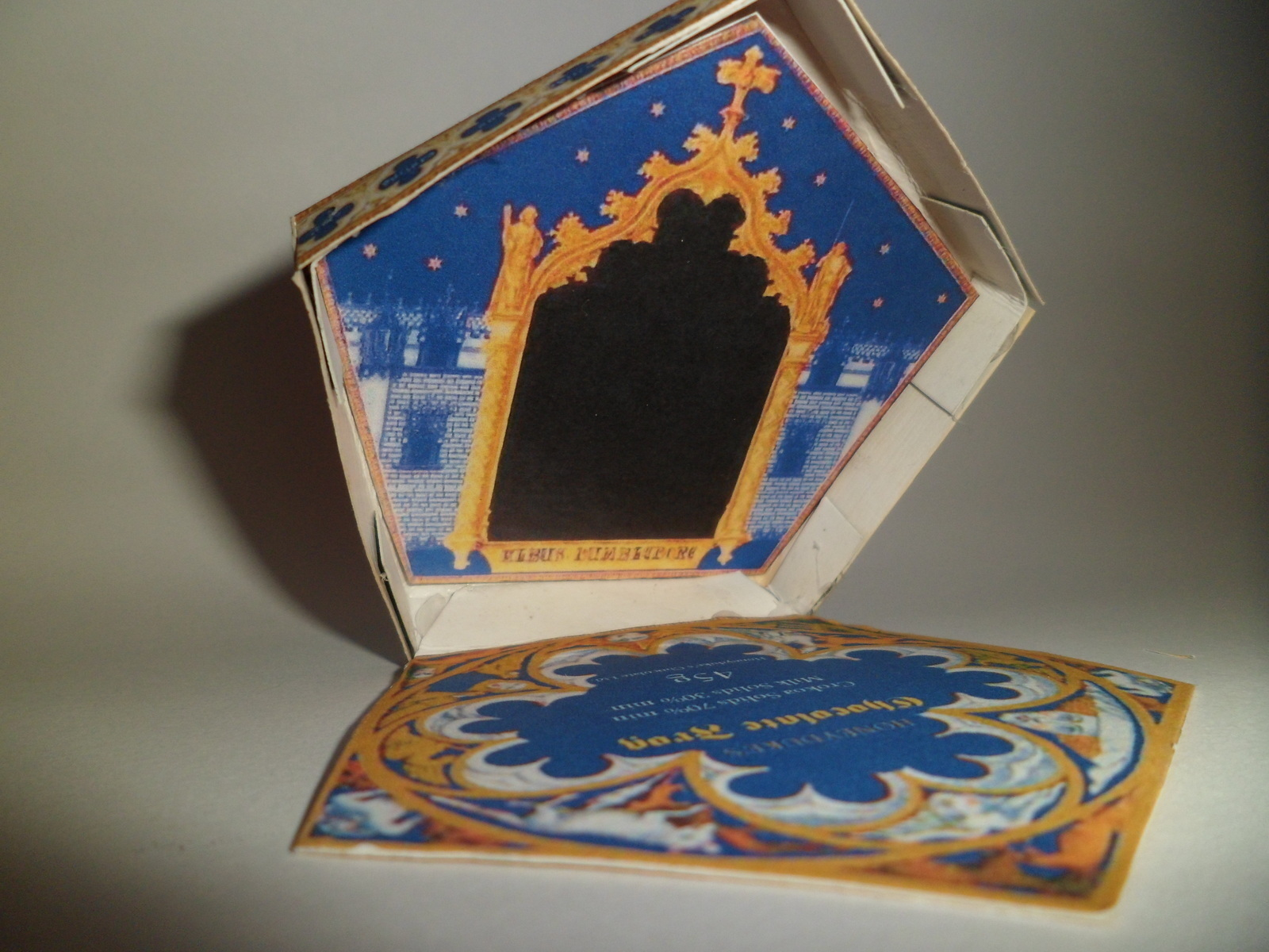 Chocolate Frog 183 How To Fold An Origami Box 183 Paper Folding On Cut Out Keep