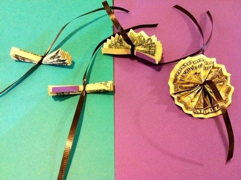 Great for Graduations and Birthdays! .  Free tutorial with pictures on how to make a recycled necklace in under 180 minutes by papercrafting with scissors, pencil, and sewing needle. How To posted by Pam. Difficulty: Easy. Cost: 4/5. Steps: 6