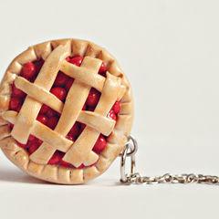 Polymer Clay Cherry Pie