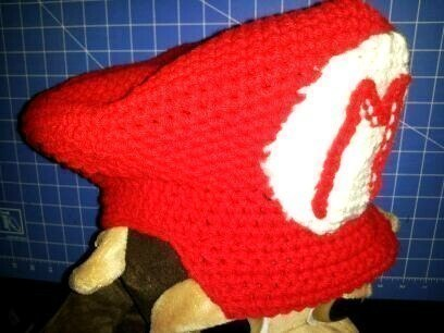 Mario Crochet Hat · How To Make A Character Hat · Embellishing ... 6c60c05c251