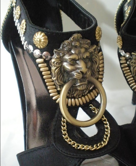Style 123176 Diamontrigue Jewelry: Lion Head Shoes · How To Make A Pair Of Embellished Shoes