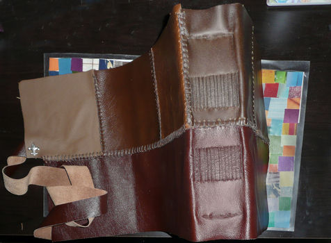 .  Make a leather journal by bookbinding Version posted by kali m. Difficulty: 4/5. Cost: 3/5.