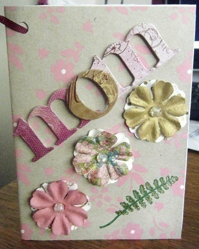 Handmade Mother S Day Greeting Card 183 A 3 D Greetings Card